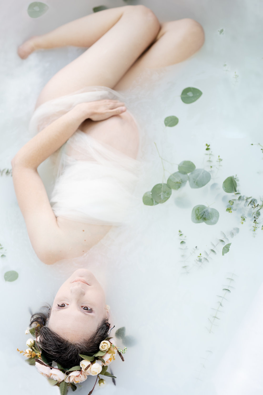 Maternity Milk Bath