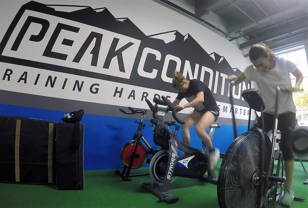 NWSL PROs at Peak Condition in NE Portland    The Strength & Power sessions at Peak Condition in NE Portland are perfect for athletes looking to improve their strength, running form, quickness, and decrease potential for injuries.