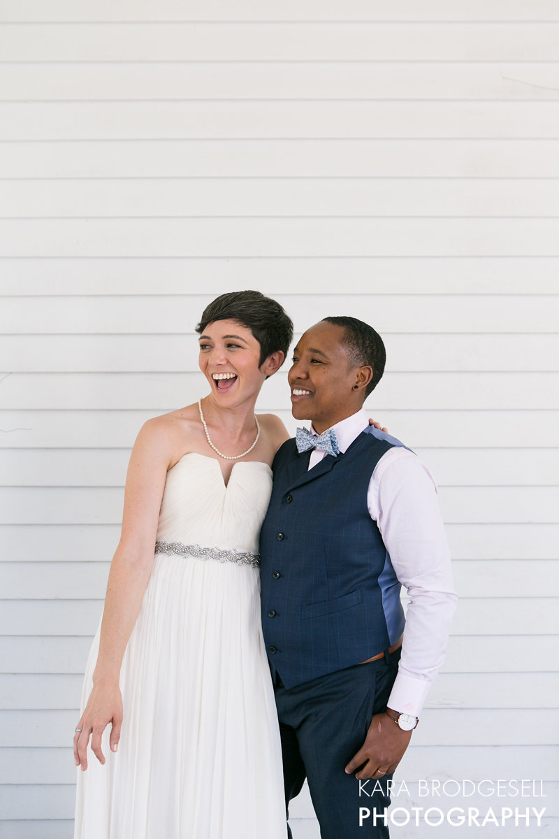 Elegant Urban Wedding in Oakland - A BICYCLE BUILT FOR TWO