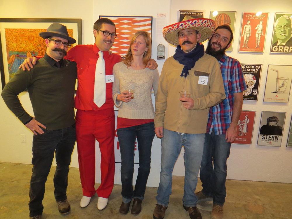 Dye, Kapustka, Kinahan, Lopez, Reid - Circa 2012
