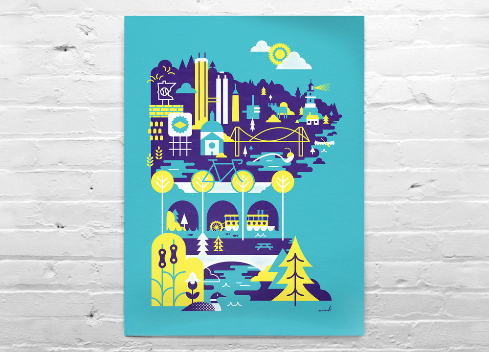 The Scenic Route Poster
