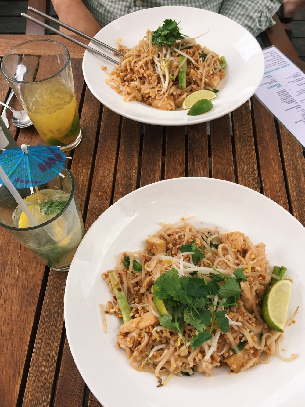 Chicken Pad Thai that I'm still drooling over