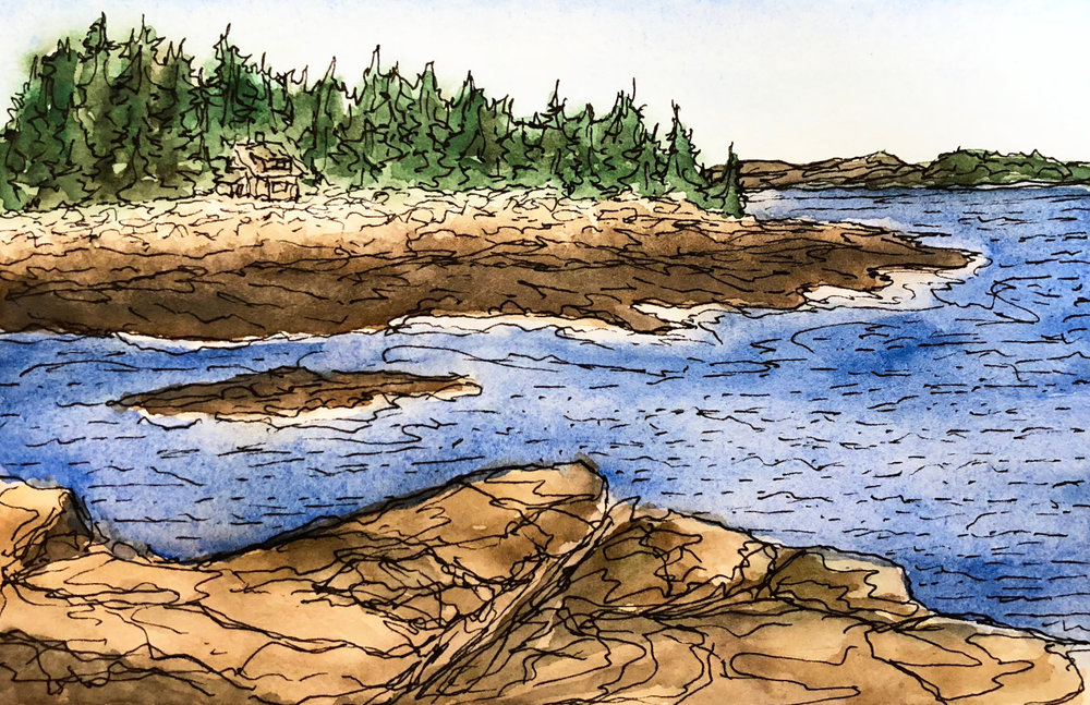 Watercolor Drawings - Enter Gallery