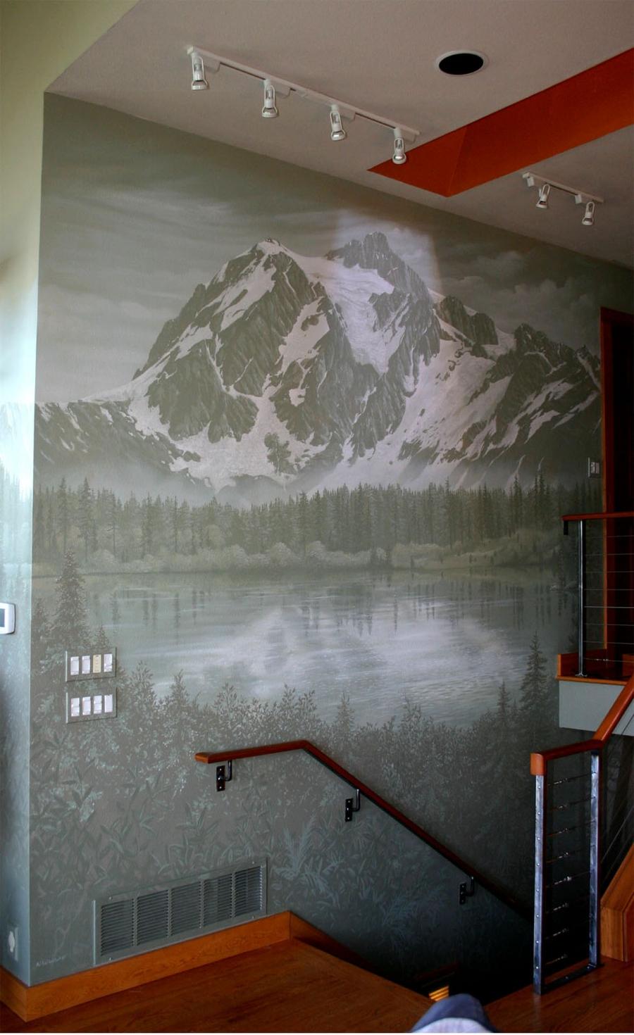 Mt Shuksan Mural