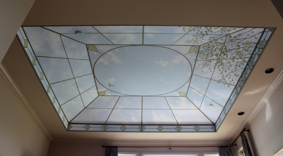 """Glass"" ceiling"