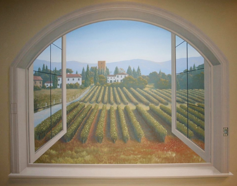 Trompe l'oeil window