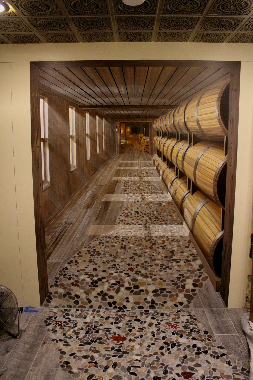 Trompe L'oeil Wine Cellar