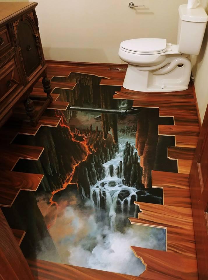 Trompe L'oeil Floor