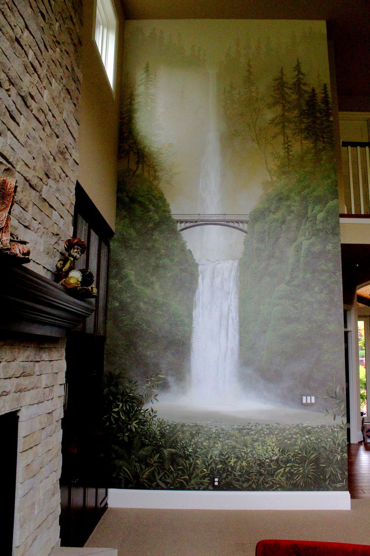 Multnomah Falls Mural