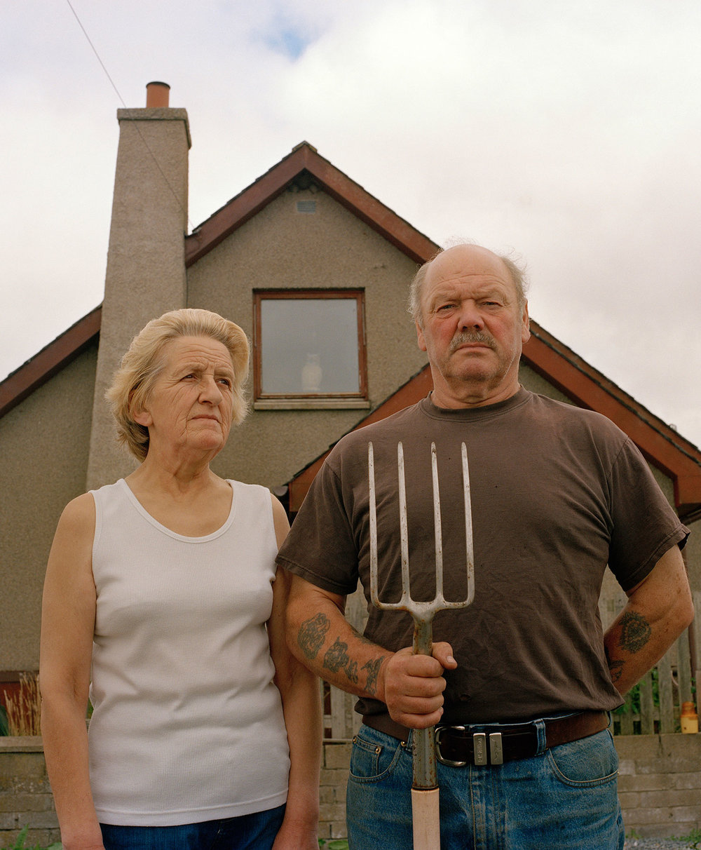 'Mike & Sheila Forbes: Mill of Menie'. From series 'Menie: TRUMPED' //© Alicia Bruce