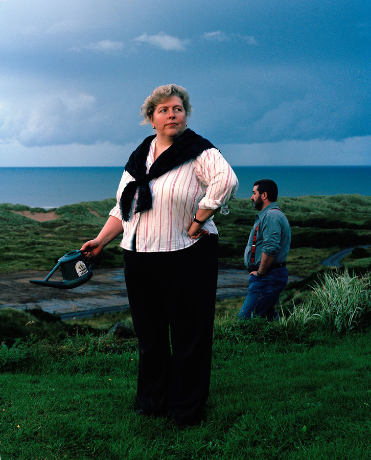 'Moira & David Milne: Hermit Point', From series 'Menie: TRUMPED' //© Alicia Bruce