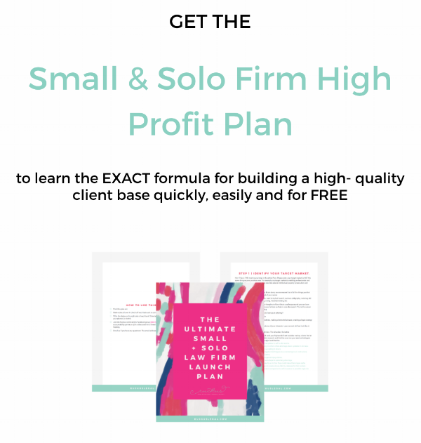 solo law firm profit plan