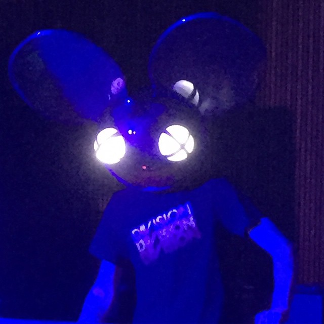 @deadmau5 throwin down #chochill