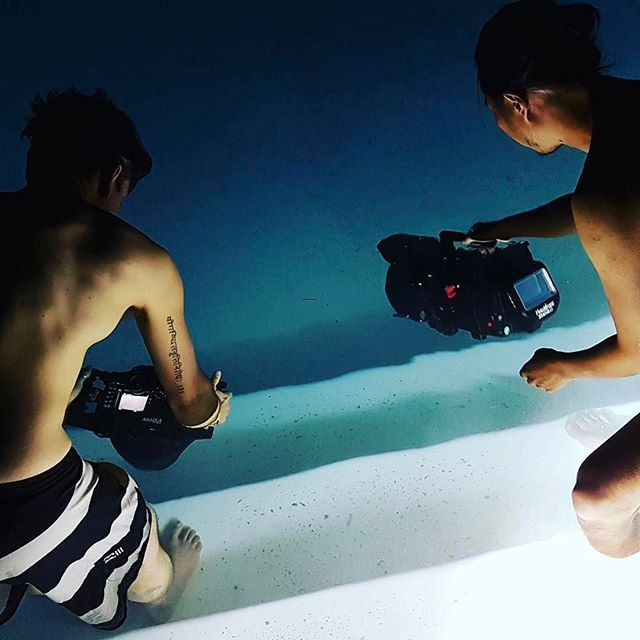 #Repost via @timurmusabay w/ @occupiedvr night waterproof testin...