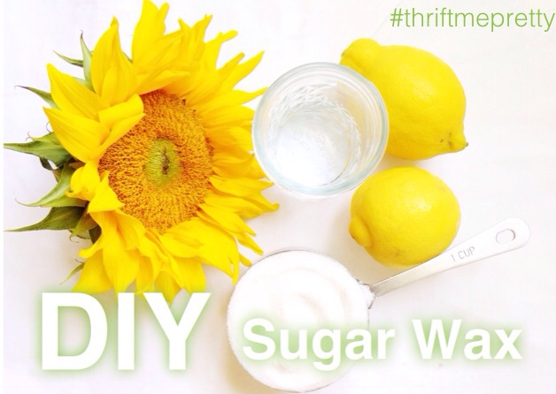 DIY Sugar Wax