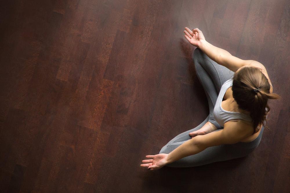 Meditation with focus