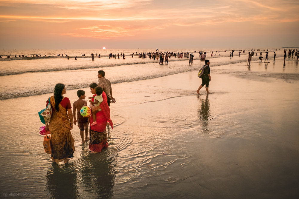 sunset attraction, cox's bazar