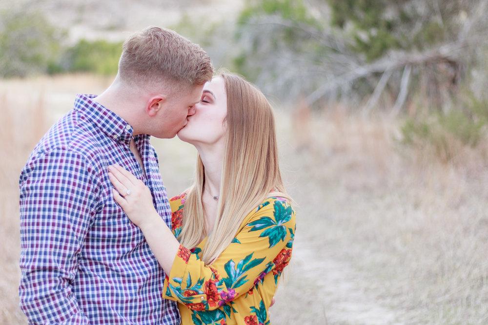 Ricky & Alyssa Hiler - Aggie Wranglers Kiss.jpg