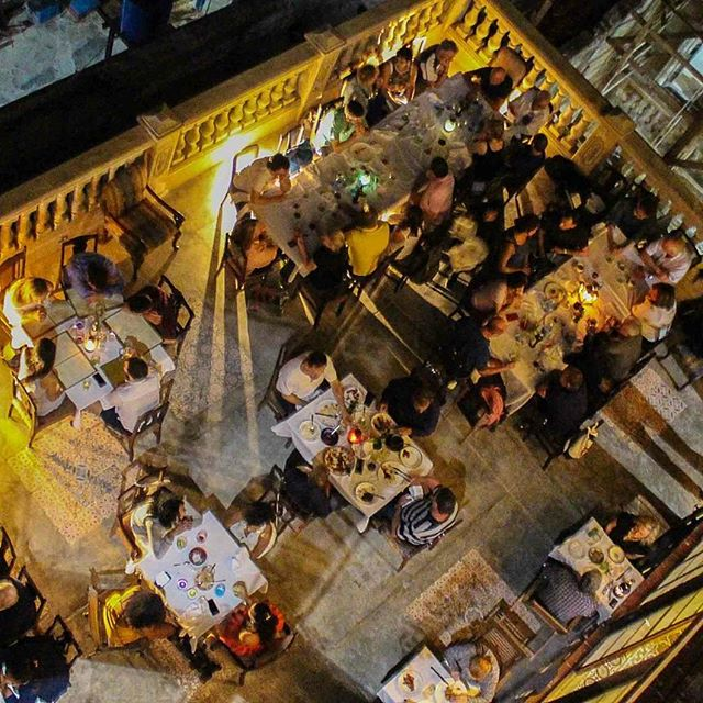 The always popular, always delicious La Guarida restaurant in Centro Havana #havana #cuba #travel #food #restaurants #nightlife