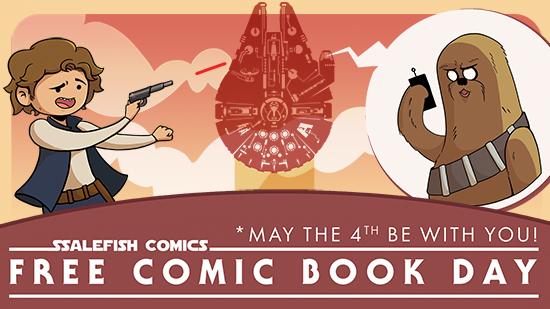 Free Comic Book Day 2019 in Greensboro — SSALEFISH COMICS