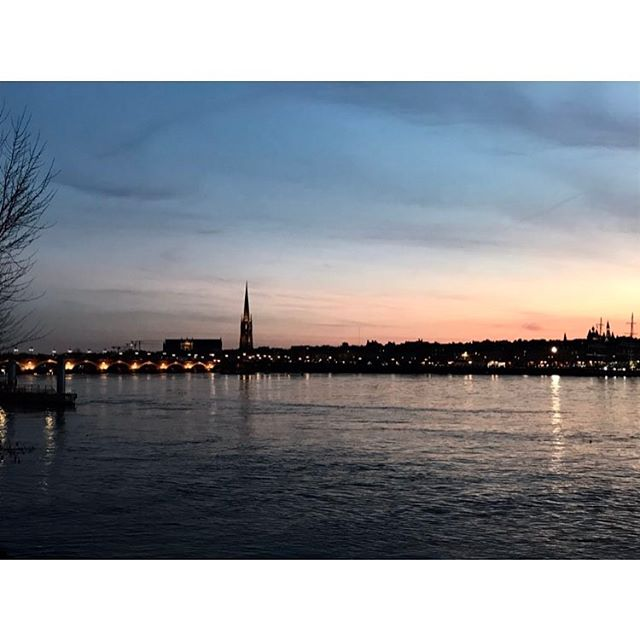 """Sometime I go for a """"run"""" & my new home looks beautiful, also there's a pirate ship hanging out in the Garonne?"""