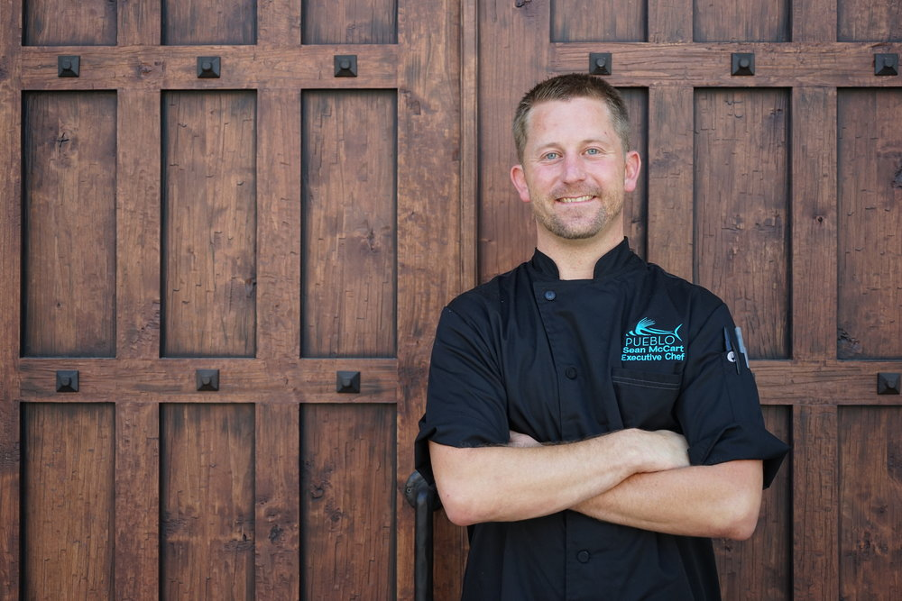 Chef's TableChef Sean McCart invites you to his world of baja cuisine.Date:Thursday, February 237:00 PM$90 per person -