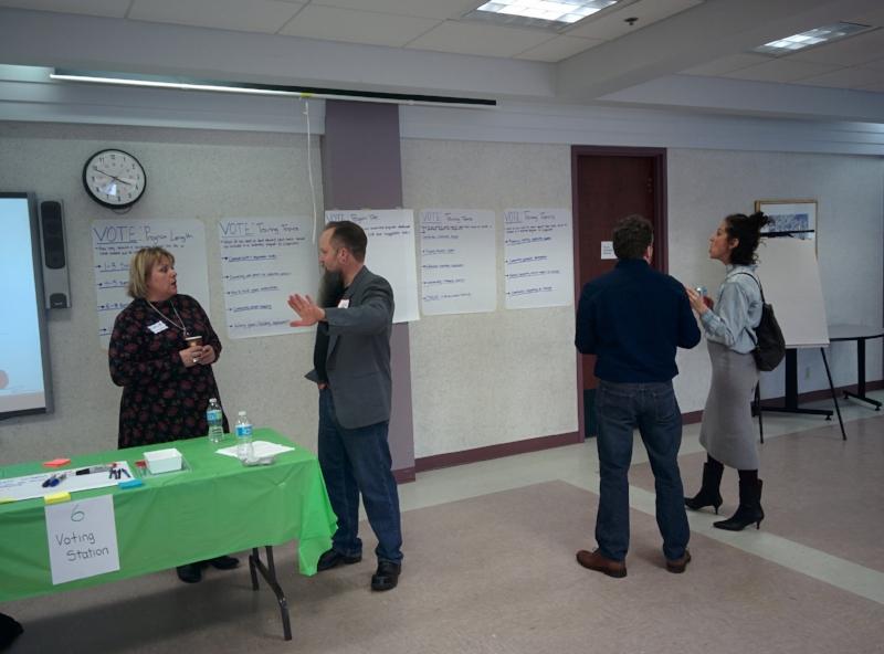 CDLI Community Development Curriculum Lab event, March 2017
