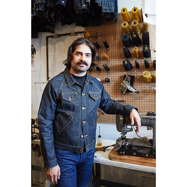 Studio visit with Todd Martin, a Brooklyn-based tailor specializing in bespoke denim jeans, jackets, and other custom goods since 2009. Check out his work at @t_mart.studio