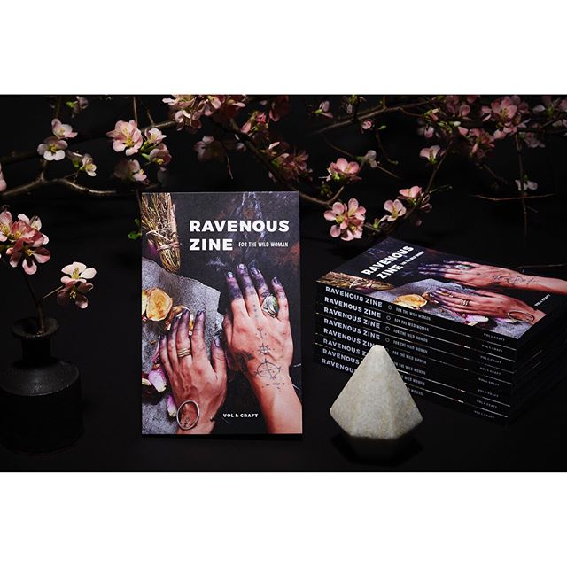 @RavenousZine Vol. I: Craft is restocked and available online and at select brick and mortar retailers