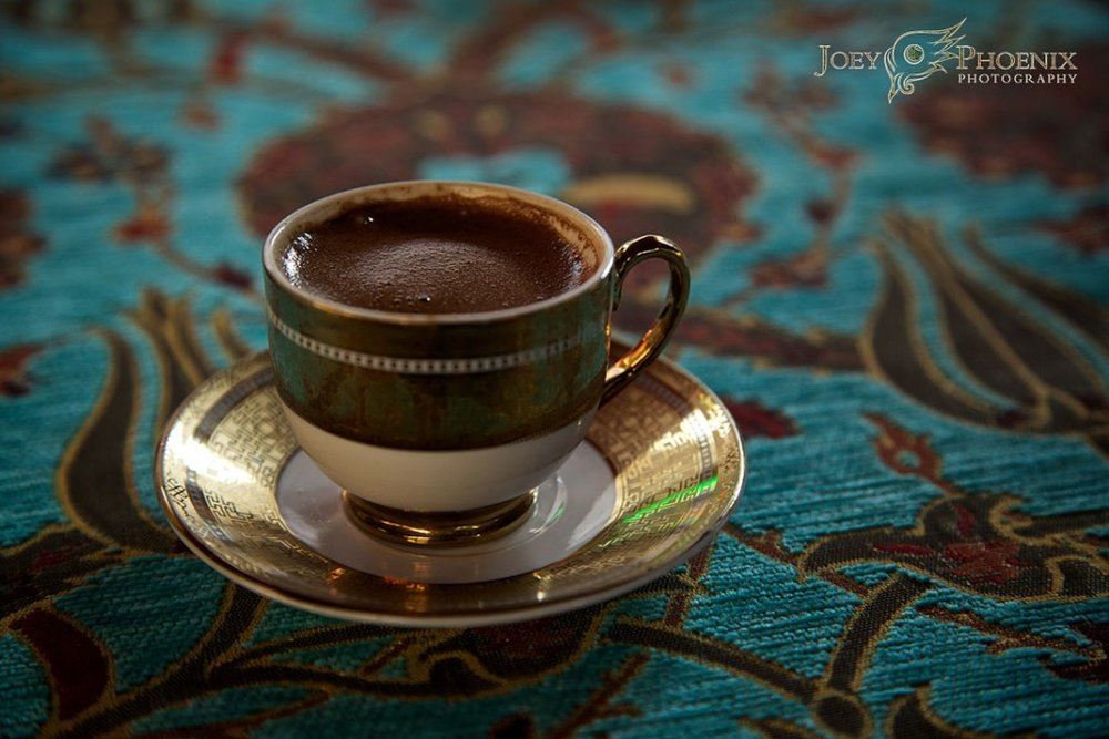 Turkish Coffee © Joey Phoenix Photography