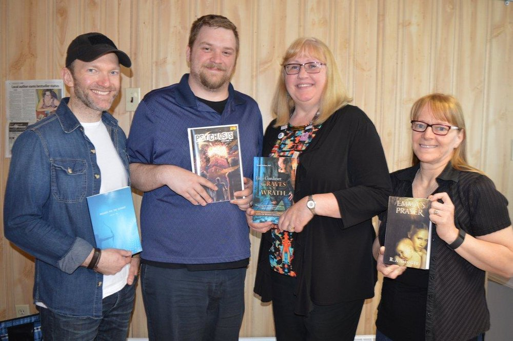 2nd Annual Metro Moncton Book Festival (Moncton, NB) (June 9, 2018)