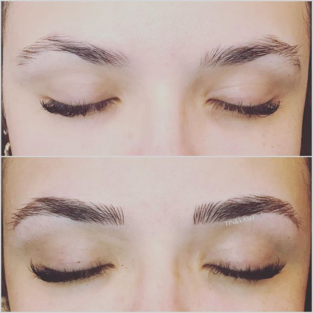 #microblading #pmu #browsonfleek #seattlebrows #eyebrows #beforeandafter