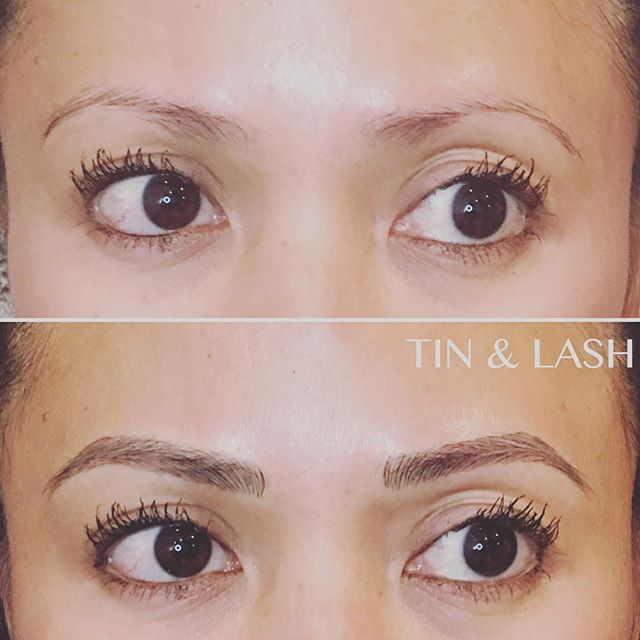 Brow of the day! #brows #seattlebrows #tinandlash #microblading #pmu #micropigmentation #eyebrow #beauty