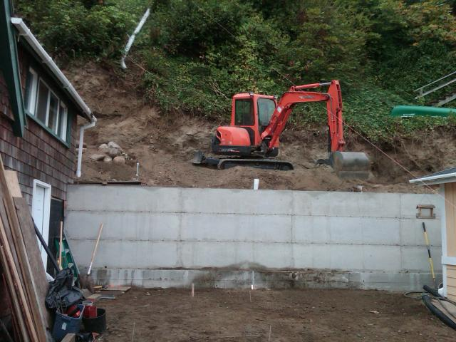 Retaining Walls Greentree Dozing