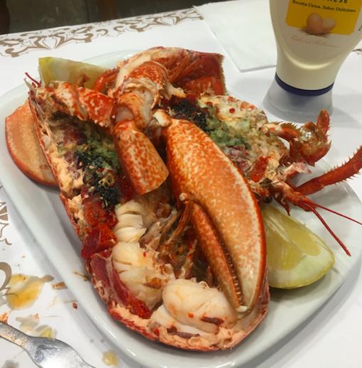 Fresh lobster in Lisbon, Portugal