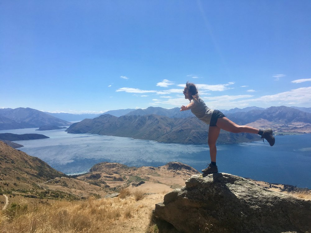 Me being fearless in Wanaka, New Zealand