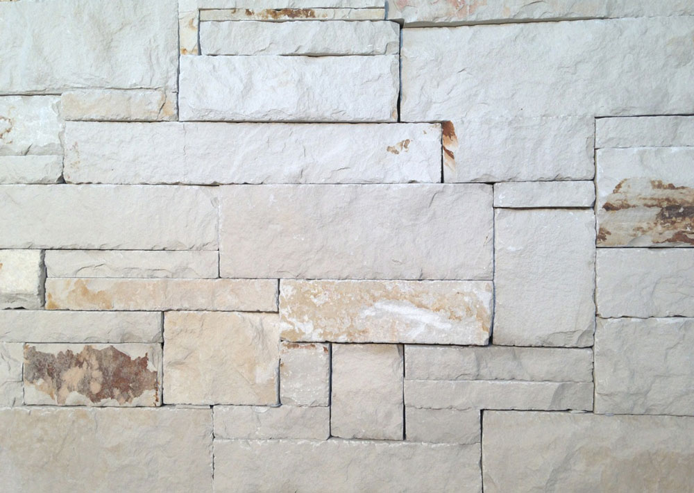 Siltstone Random Ashlar Wall Cladding.