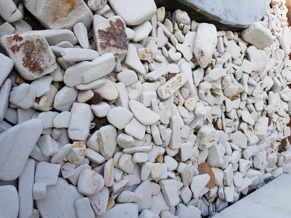 SILTSTONE RANDOM RIVER PEBBLE Mixed size