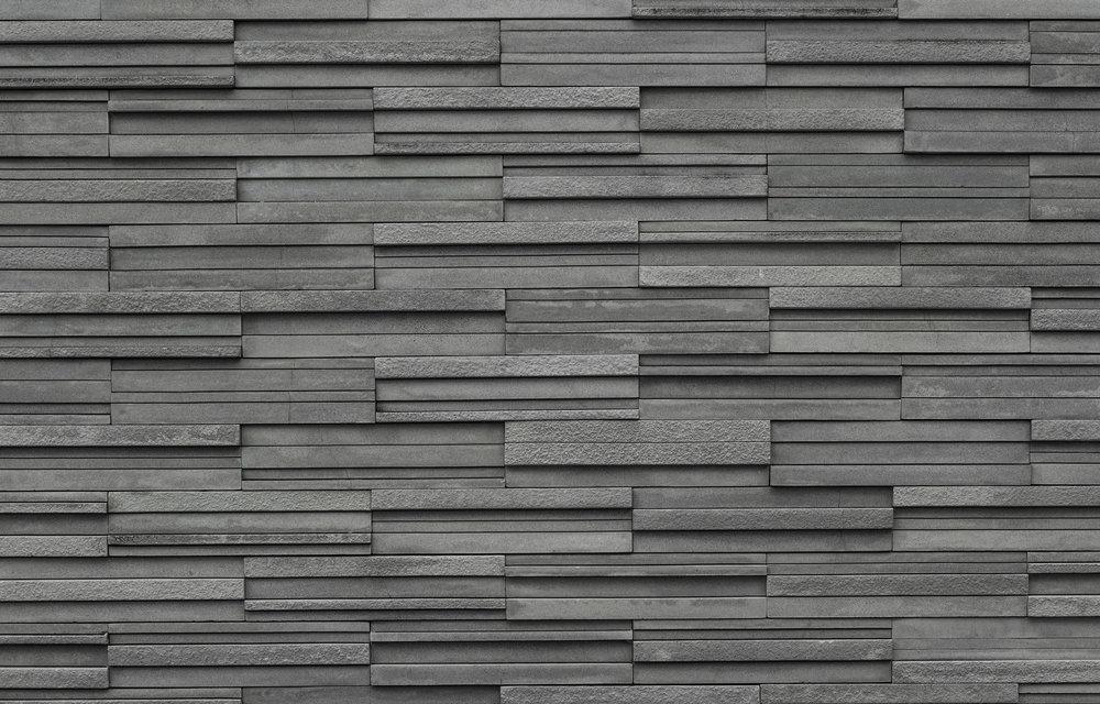 Bluestone Multi Finish Wall Cladding (Honed, Bush hammered, Flamed).