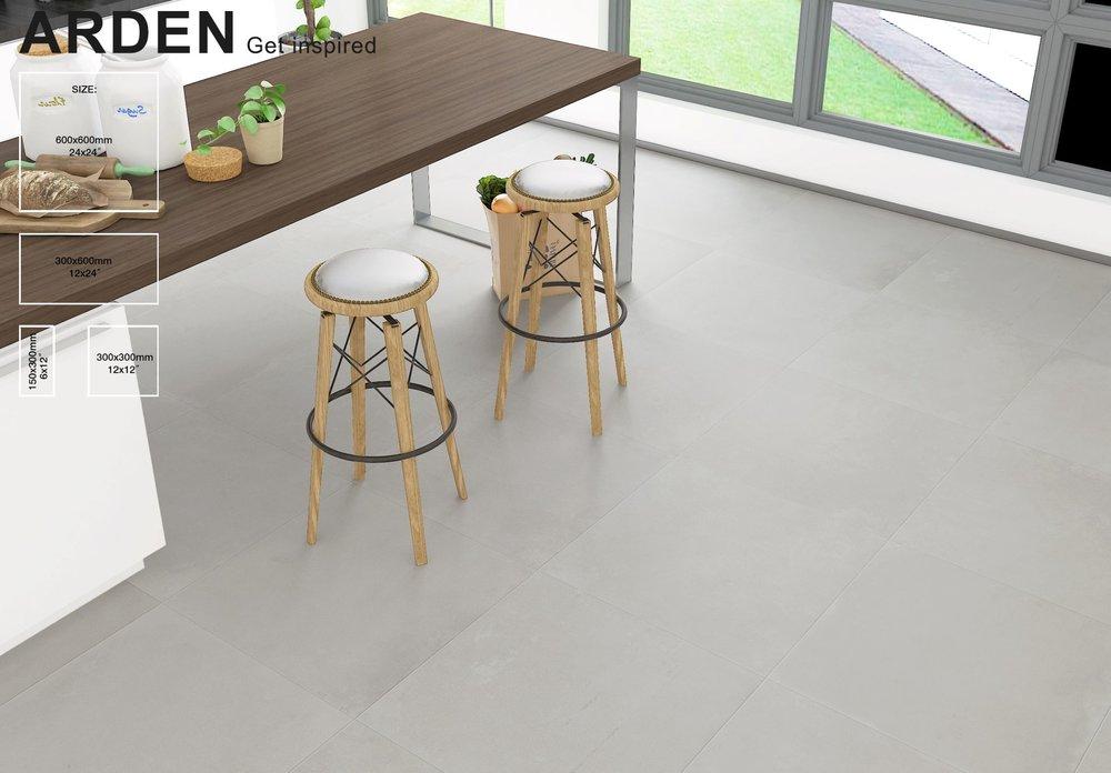ARDEN -Terrazzo Porcelain 600x600