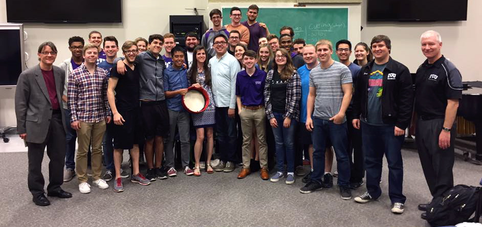 TCU Percussion Studio