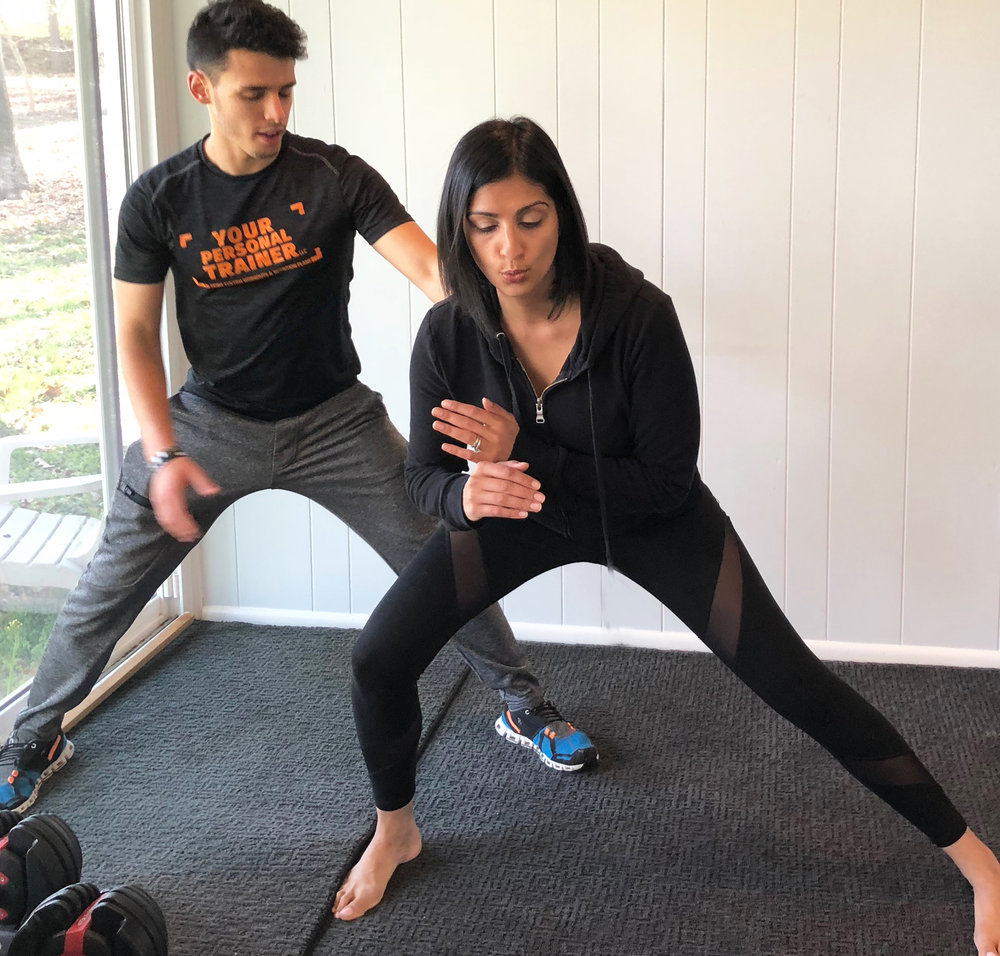 IN-HOME PERSONAL TRAINING IN BETHESDA, MD • CHEVY CHASE, MD • GAITHERSBURG, MD • GERMANTOWN, MD • NORTH POTOMAC, MD • POTOMAC, MD • ROCKVILLE, MD
