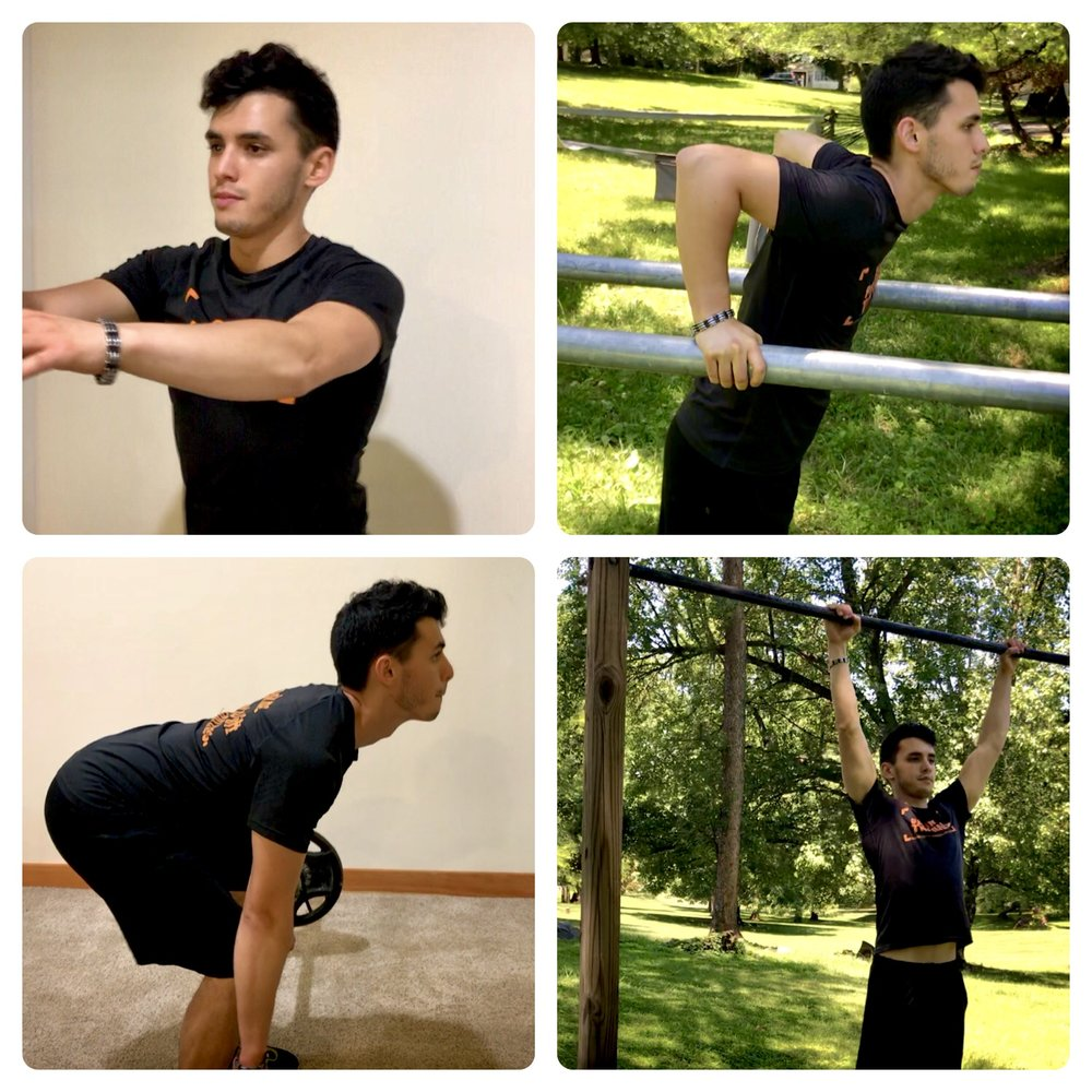 WYATT ORING OF YOUR PERSONAL TRAINER SHOWS HOW TO EXERCISE PROPERLY