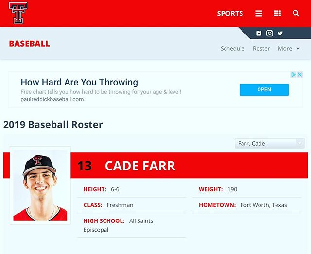 Former FW Cat getting ready for his freshman season in the Big 12 #FWCats