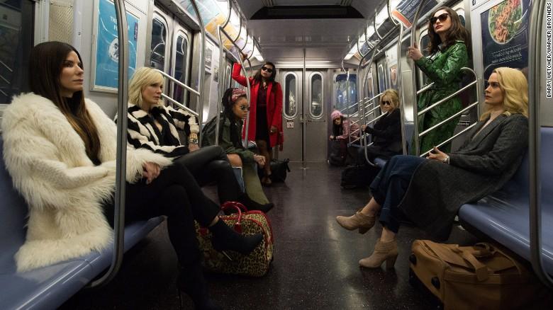 Sandra Bullock, Cate Blanchett,Sarah Paulson, Anne Hathaway, Rihanna, Mindy Kaling, Helena-Bonham Carter and Me!