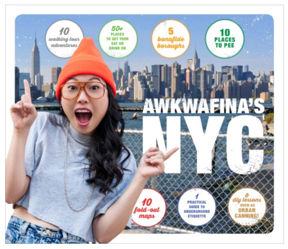 "Let Awkwafina—the Queens-born rap artist of ""NYC Bitches"" fame—be your guide to the hidden gems of New York City (natives, we're talking to you, too.) with 10 walking tour adventures that you don't need a trust fund to enjoy. Travel back in time exploring revolutionary-era Tottenville or Louis Armstrong's house in Corona. Gorge yourself on the haute-cuisine of the street-savvy, from authentic pierogi in Little Poland to steam dumplings in Flushing. Roll with Awkwafina, and she'll show you the neighborhoods you never knew you were missing (and a few you were missing the point of)."