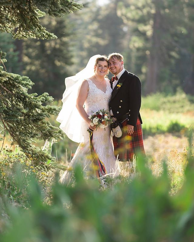 In every walk with nature one receives far more than he seeks. -John Muir ❤ 📸@lclindley  Hair and 💄@daymaker_brides  venue @sugarbowlresort  #loveandlupinesbride #brideandgroom #justmarried #mountainwedding #rusticvibes #kilt #tahoeflorist #tahoebride #tahoegroom #Tahoewedding #flowersofinstagram #everywedding #ido #summerwedding