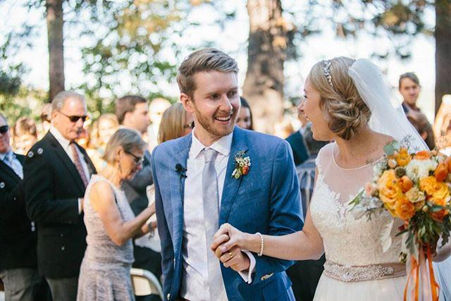 I love all of the feels that go along with just saying #ido. what a special moment captured by @jenschmidtphoto 💄@solsticeweddings #loveandlupinesbride #gatekeepersmuseumwedding #Tahoewedding #justmarried #ido #weddedbliss #everywedding #laketahoe #weddingflorist