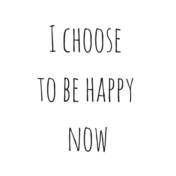 We all have the choice to feel what we feel.