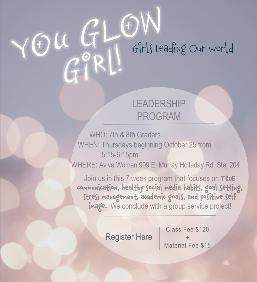 Youth Girls Leadership Classes, service project for young girls.